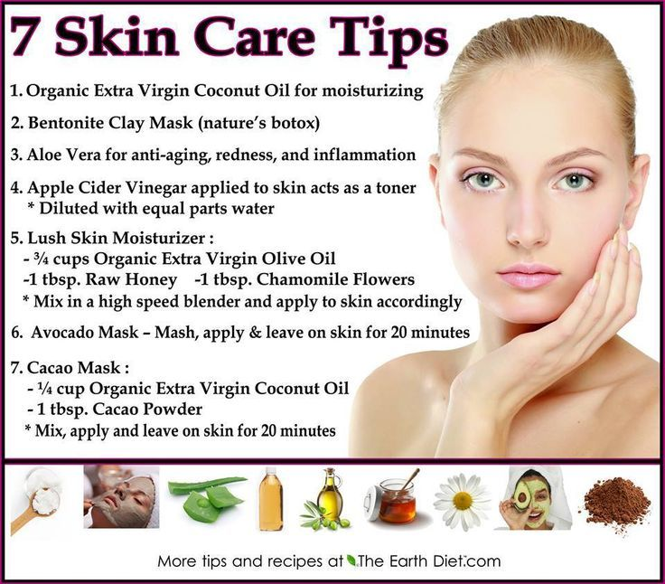 Skin Care Tips In English Skin Care Tips Natural Products For