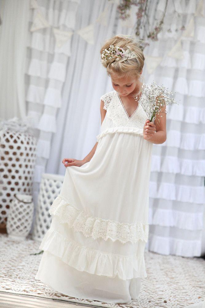 Matisse Maxi Dress - Off white/ Ivory | Pinterest | Kinder kleidung ...