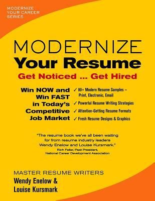 Modernize your resume  get noticed get hired New Non - resume book