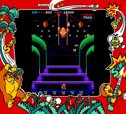 Dkong3 Png 500 452 Arcade Games Donkey Kong Game Google