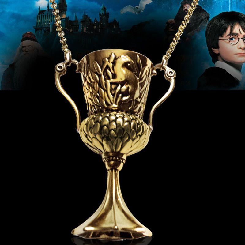Harry Potter I Czara Ognia Hufflepuff Puchar Wisiorek Naszyjnik Horkruksem Harry Potter Necklace Hufflepuff Cup Horcrux Necklace