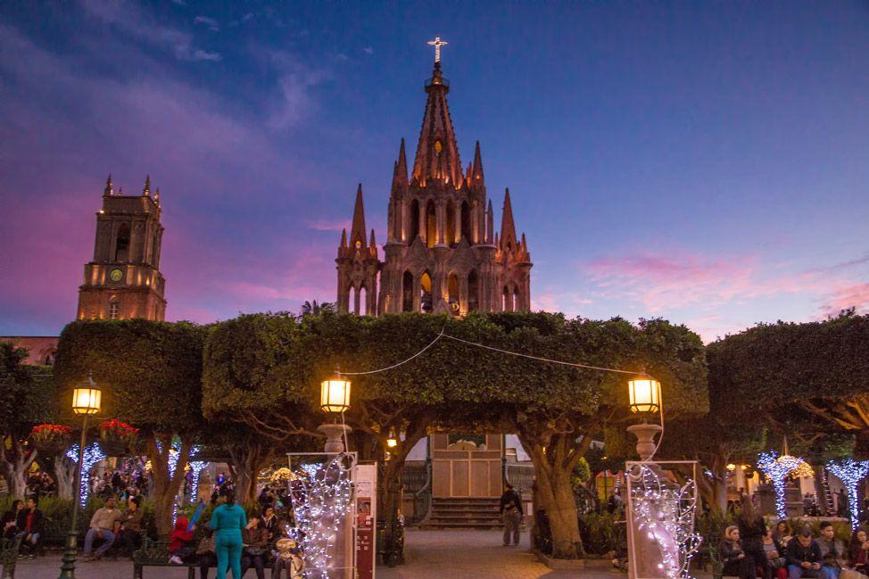 La Parroquia San Miguel de Allende - Dusk