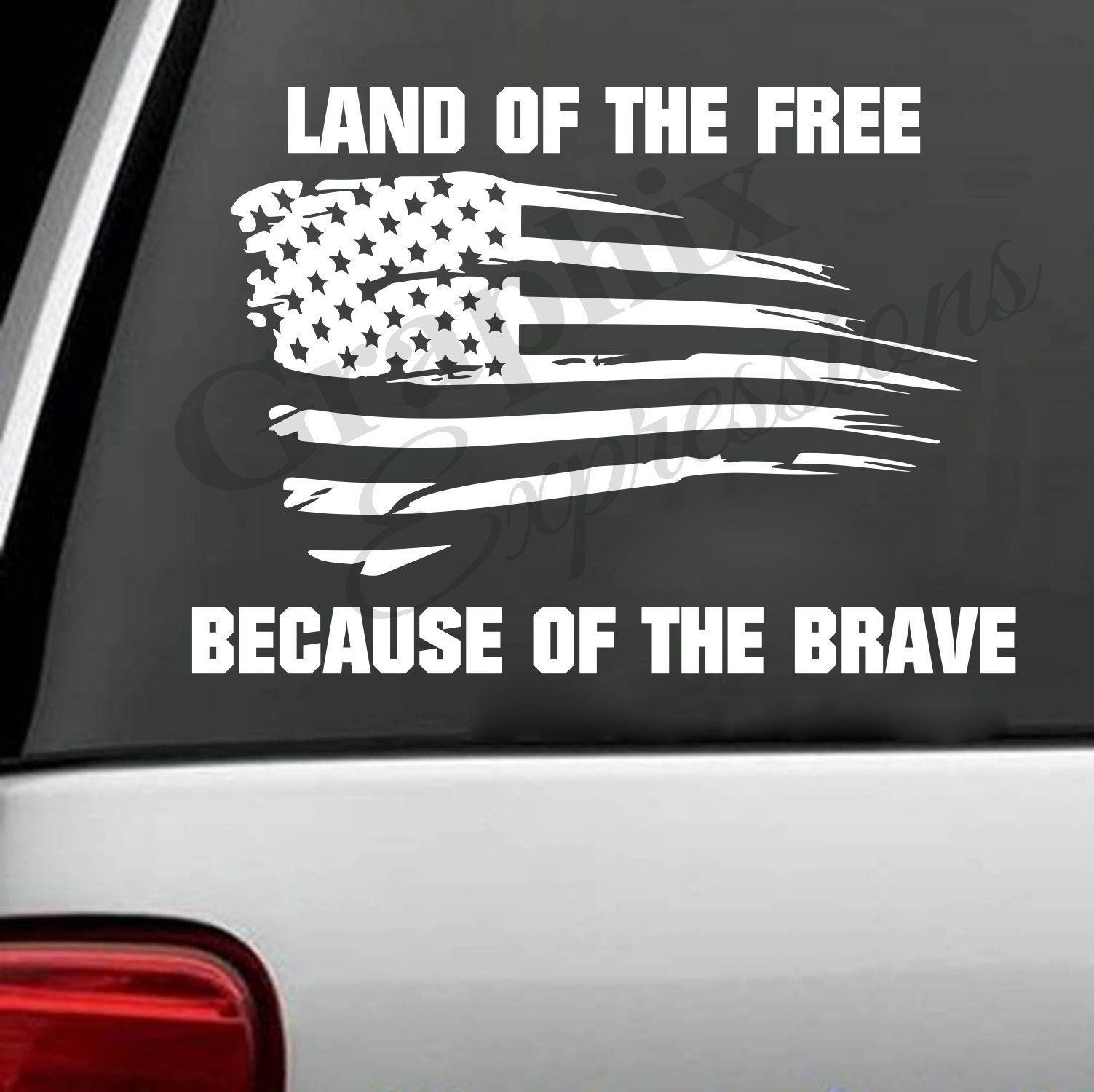 Land of the Free Decal