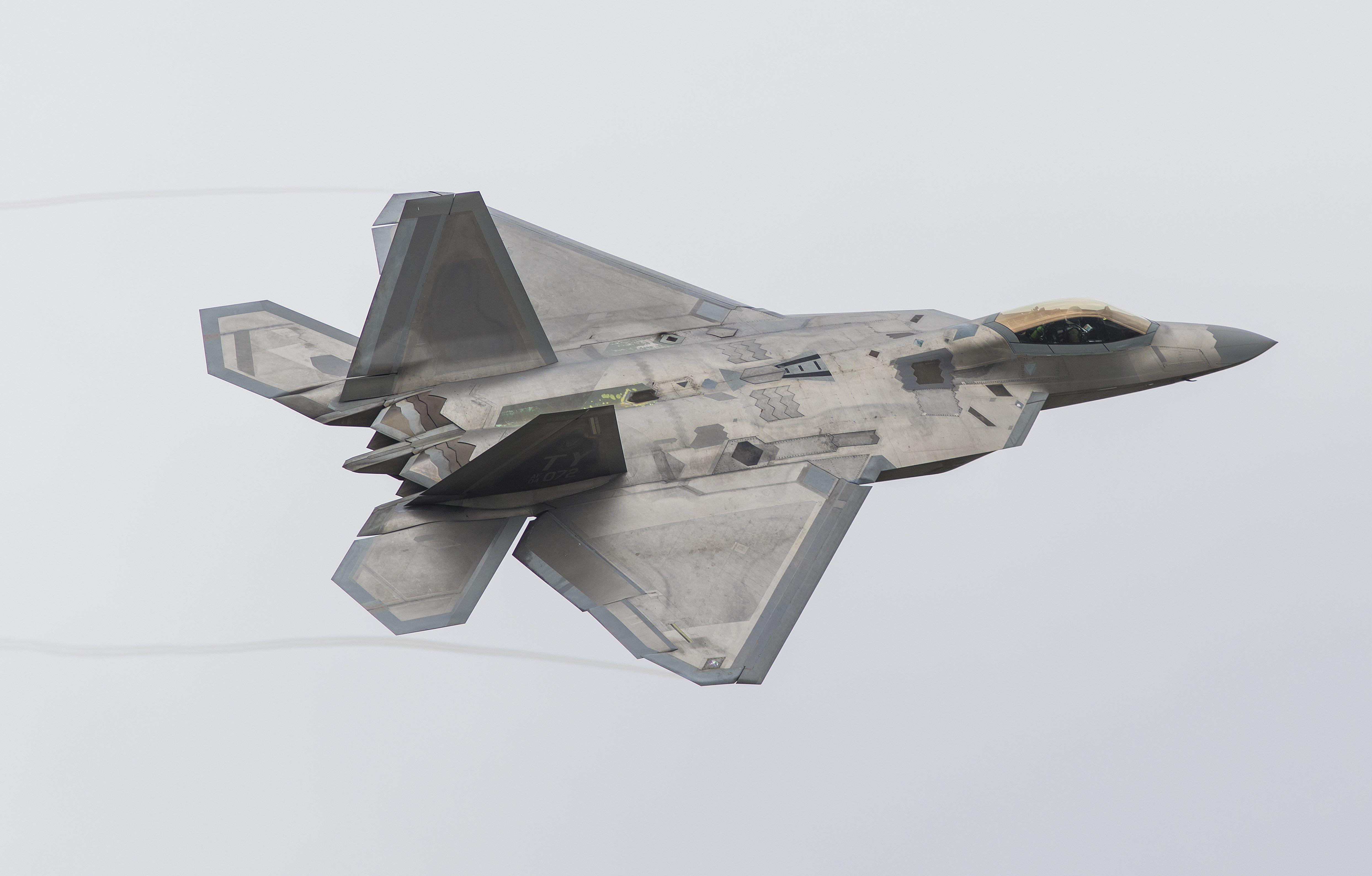 4k Wallpaper Lockheed Martin F 22 Raptor 4972x3176 Fighter