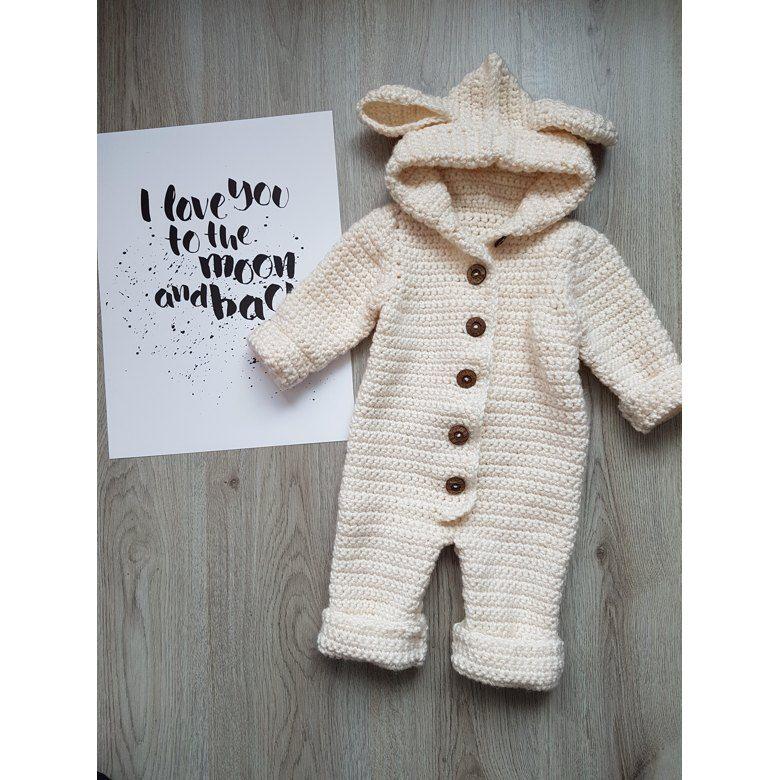 The Haylie Overall | Häkeln | Pinterest | Ganchillo bebe, Croché und ...