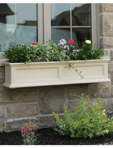 Window Boxes SelfWatering Planters 39 inches  Gardeners Supply