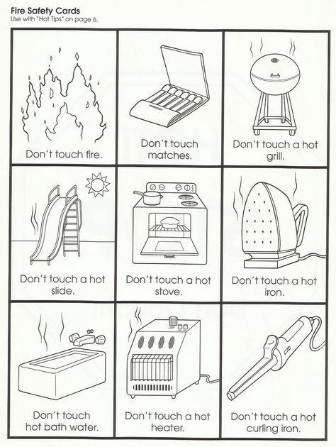 Squish Preschool Ideas Fire Safety Community Helpers Fire Safety