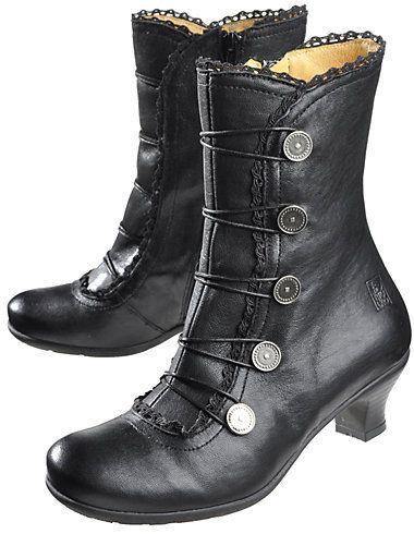 Brako Stiefeletten Alba, schwarz | Schuh stiefel
