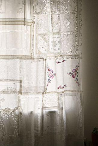 Ideas increibles de decoracion con cortinas vintage o - Cortinas ya hechas ...
