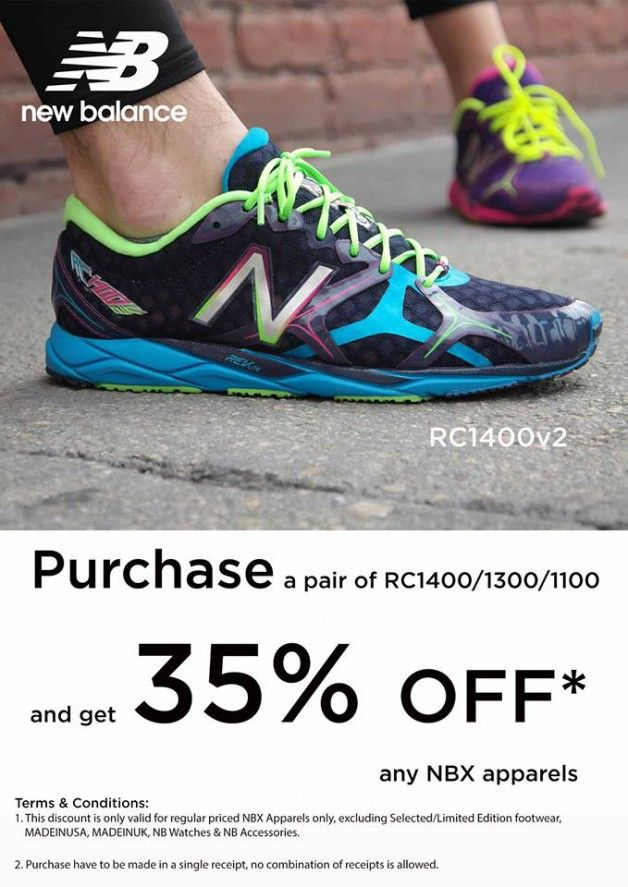 New Balance RC1400/1300/1100 Glow-In-The-Dark Running Shoes