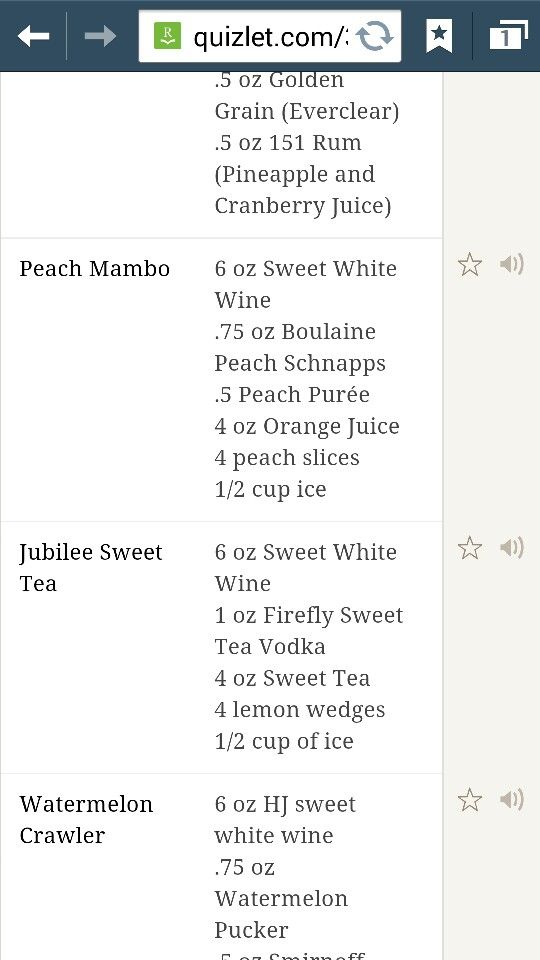 Recipe For The Peach Mambo At Razzoos Never Saw It Listed Shakes Drinks Alcoholic Drinks Sweet White Wine