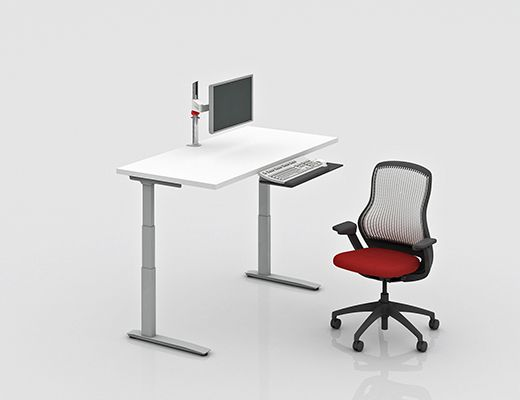 Knoll Height Adjustable Table Another Option For Work Table, Adjustable  Height And We Have The