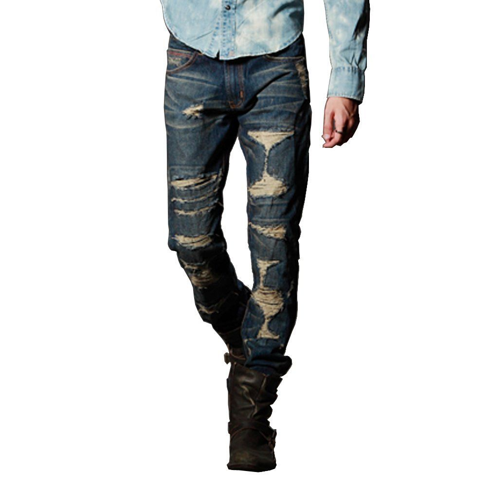 modern-ripped-jeans-for-men | Fashion | Pinterest | Ripped jeans ...