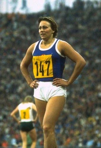 1972 Renate Stecher Leichtathletik Sportler Sport