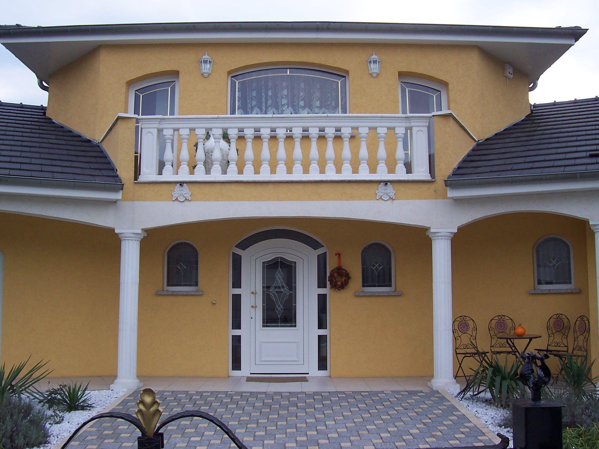 Balustrade Pour Balcon En Beton Lisse Decoratif Modele Roma Azur
