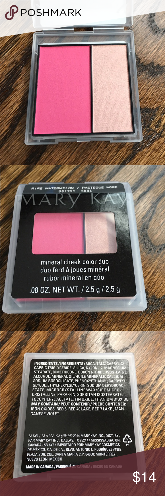 MK mineral cheek color duo Mary Kay\'s mineral cheek color duo in ...