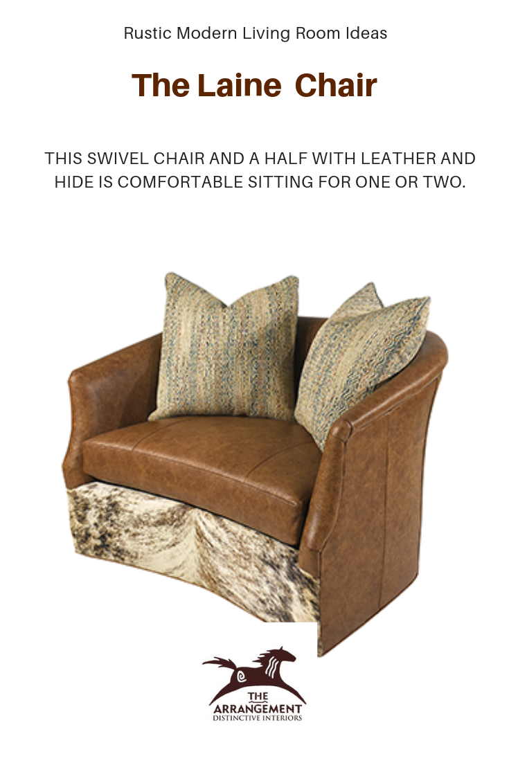 Laine Chair Modern Rustic Living Room Modern Furniture Living Room Chair And A Half