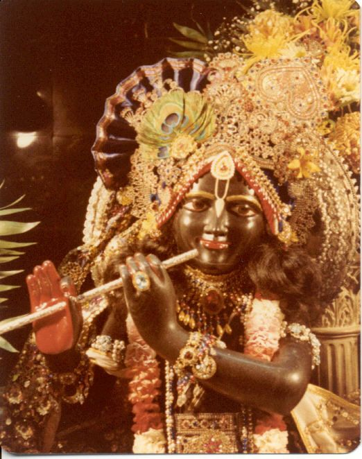 Kalachandji after His installation. So happy.