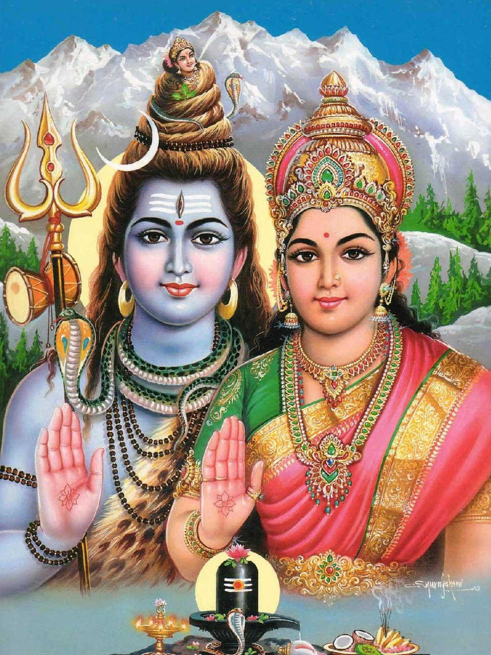 lord shiva and parvathi images hd 1080p download