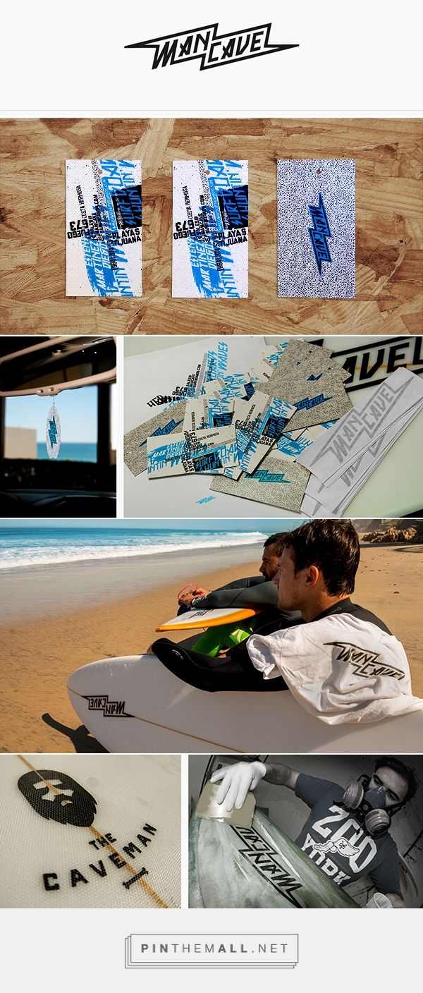 MANCAVE SURFBOARDS Branding on Behance | Fivestar Branding – Design and Branding Agency & Inspiration Gallery