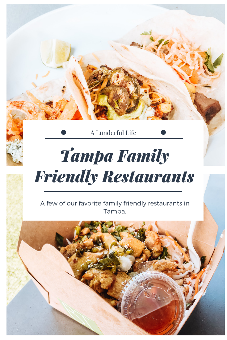 Family Friendly Restaurants In Tampa My Blog A Lunderful