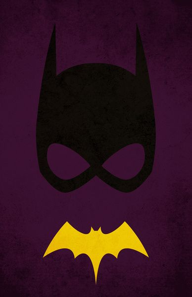 Batgirl Art Print LogoBat GirlHeroes ComicSuper HerosIphone WallpapersMarvel