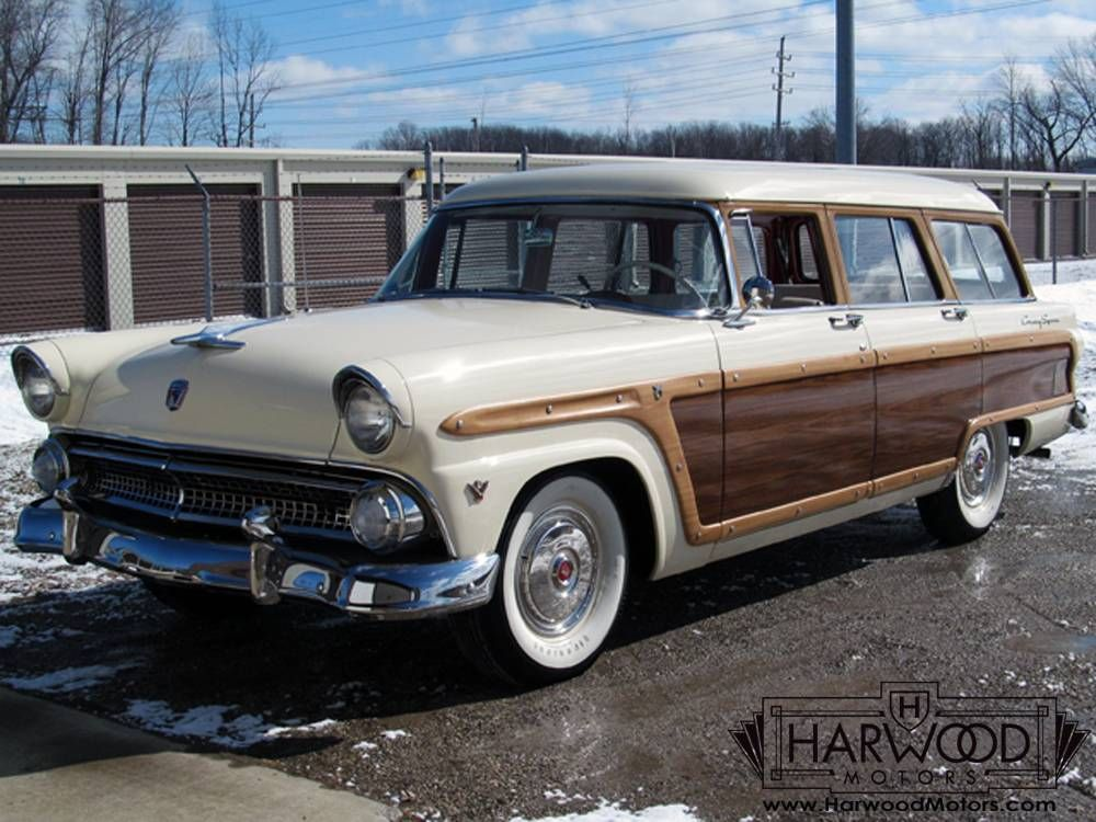 1955 ford country squire station wagon for sale hemmings motor news ford pinterest for. Black Bedroom Furniture Sets. Home Design Ideas