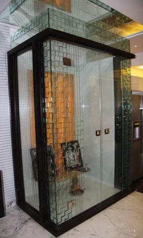 Pooja Room Designs In Glass Pooja Room Door Design