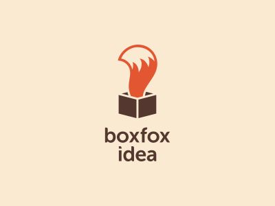 box fox idea | design inspiration, foxes and logos, Powerpoint templates