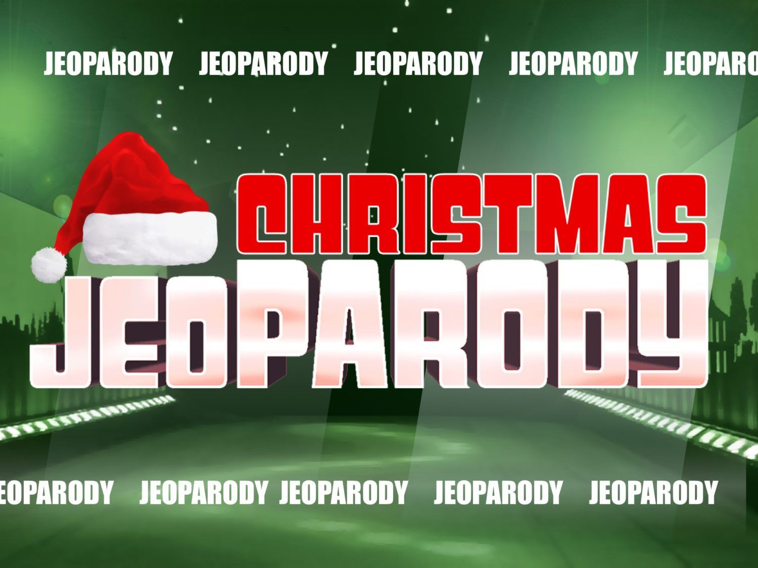 brand new christmas jeopardy powerpoint game. 30 questions and, Modern powerpoint