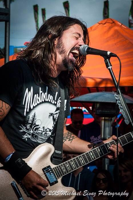 Dave Grohl 5/9/15 with Chevy Metal