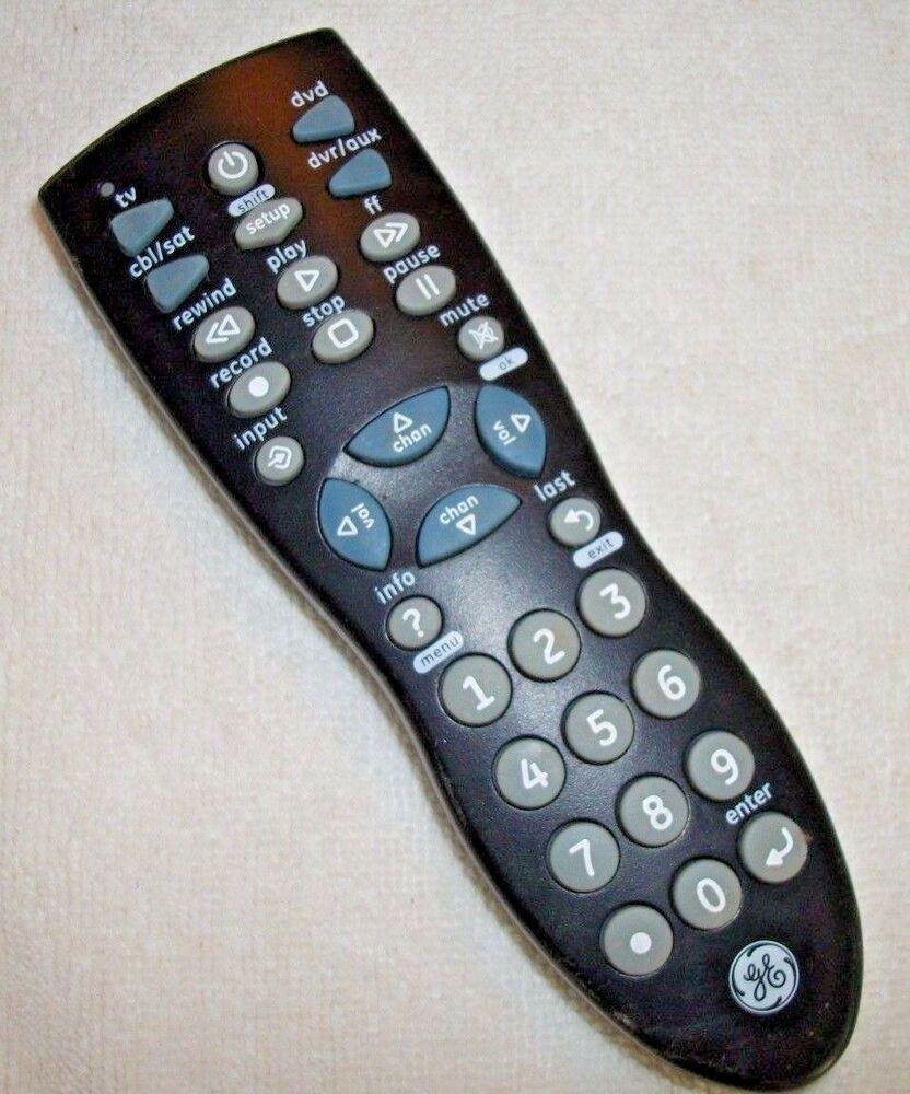 Ge 24944 V2 Universal Remote Control Ge Universal Remote Control Remote Control Remote