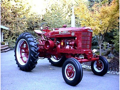 farmall m wide front  this is what ours will look like one day!