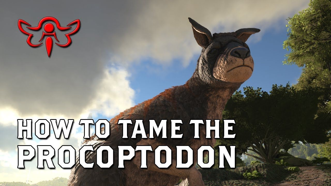 Ark Survival Evolved How To Tame The Procoptodon Survival Evolve Tame