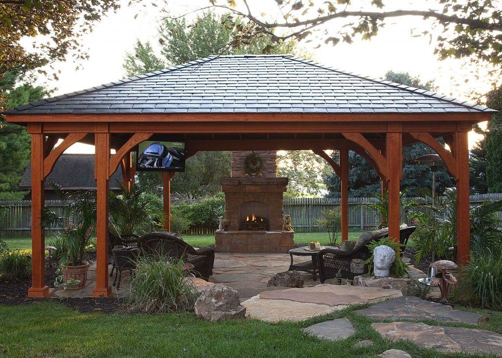 Pergolas Pavilions And Gazebos Lancaster Pa C E Pontz Sons Landscape Contractors Backyard Pavilion Backyard Gazebo Outdoor Pavilion