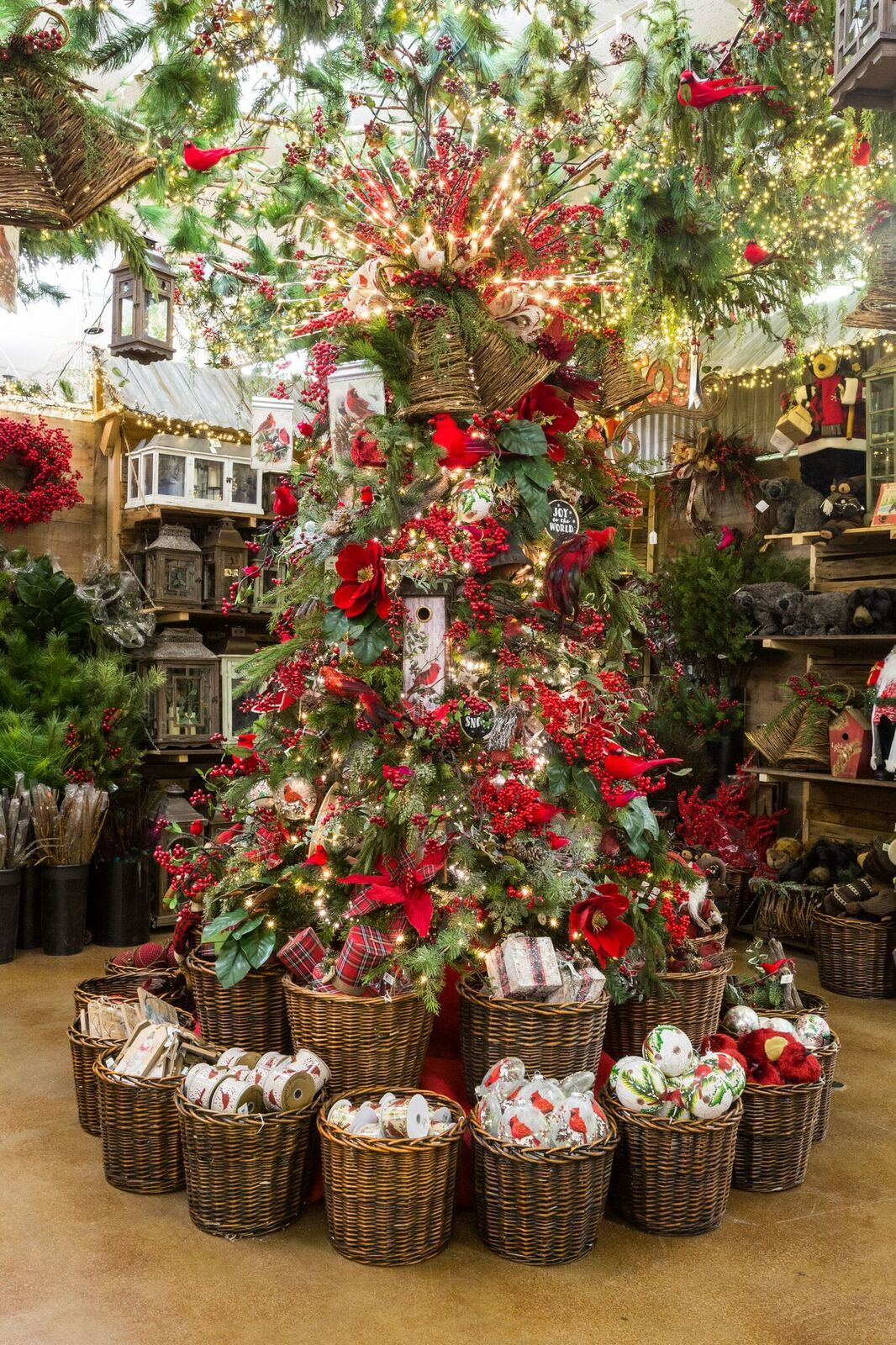 Christmas Tree Store Artificial Christmas Trees In Dallas Decorator S Wareh Christmas Store Displays Christmas Tree Inspiration Large Christmas Decorations