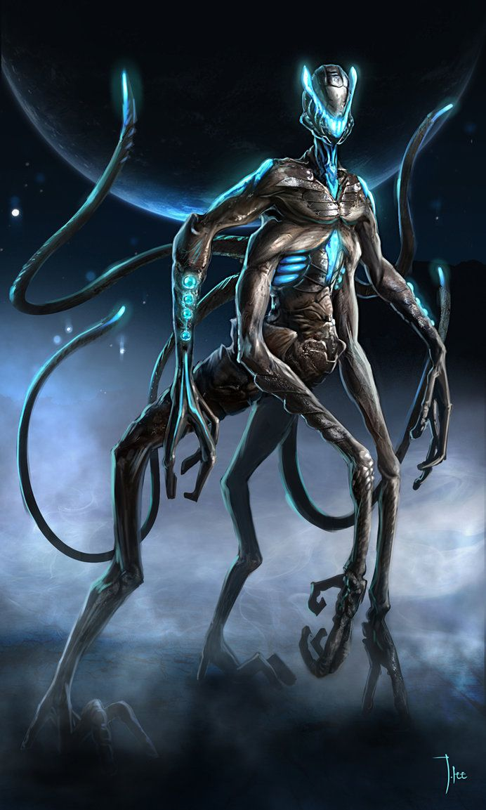 Alien Concept. Reminds me of the alien from Independence Day. The best scene in the movie was when the alien speaks through the captured scientist.