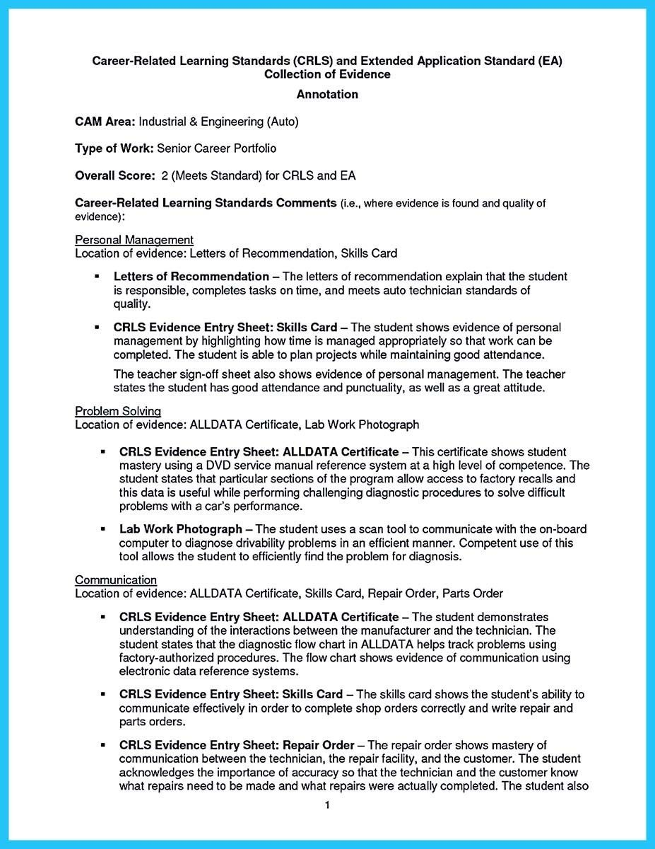 cool Writing a Concise Auto Technician Resume, Check more at http ...