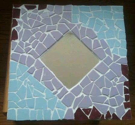 moza 239 ek spiegel gemaakt op de basisschool knutselwerk