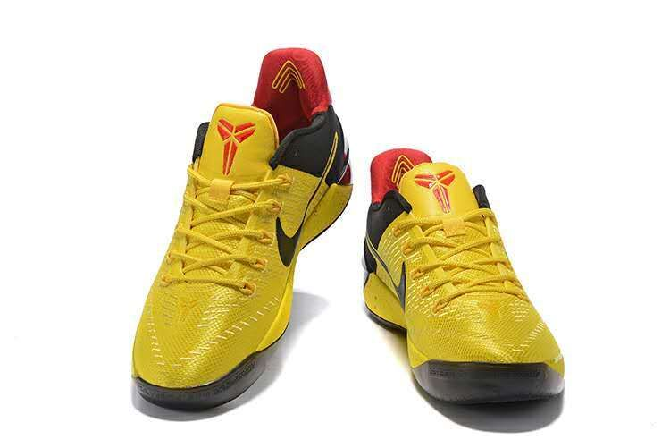2018 Legit Cheap Kobe AD 2017 Basketball Shoes Lakers Home Gold Black Red 64c993996