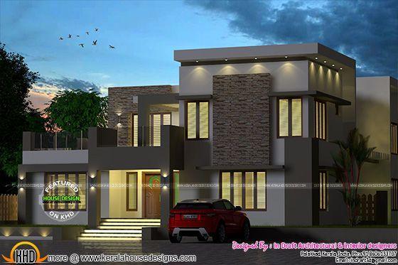 outstanding residential house design. Outstanding Kerala home designs  best interior Pinterest