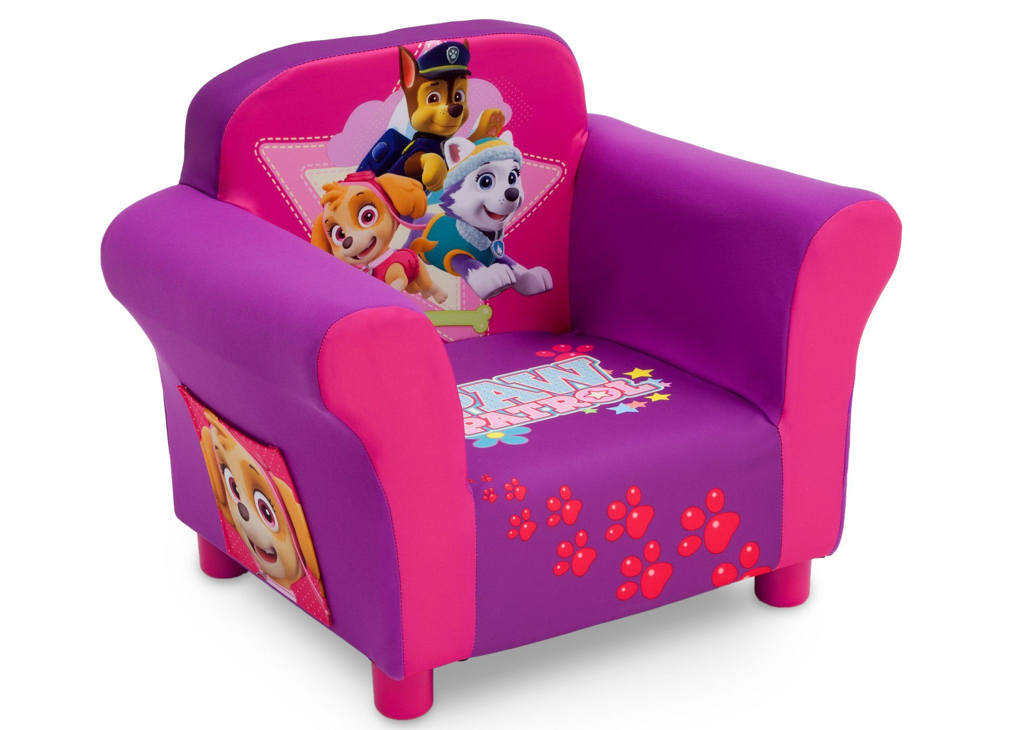 PAW Patrol Skye & Everest Upholstered Chair