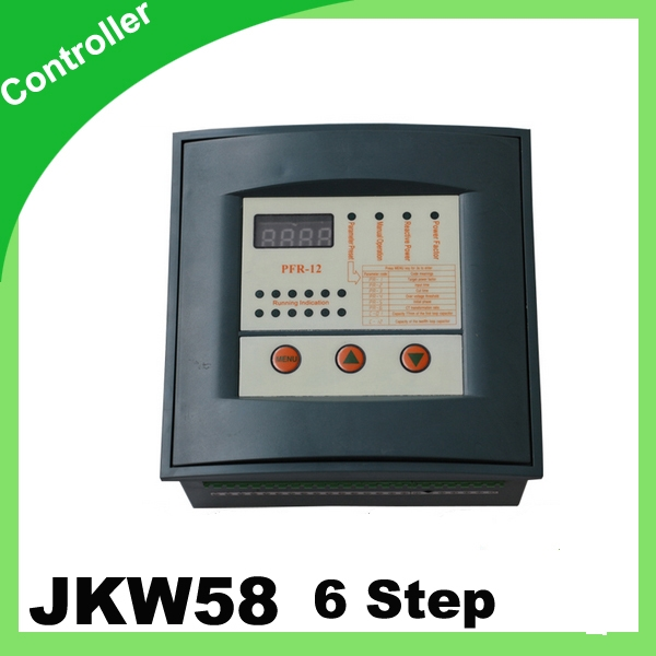 26 73 Watch Now Jkw58 Pfr Reactive Power Factor Controller Compensation 6 Step 380v Prcf Capacitor Power Control
