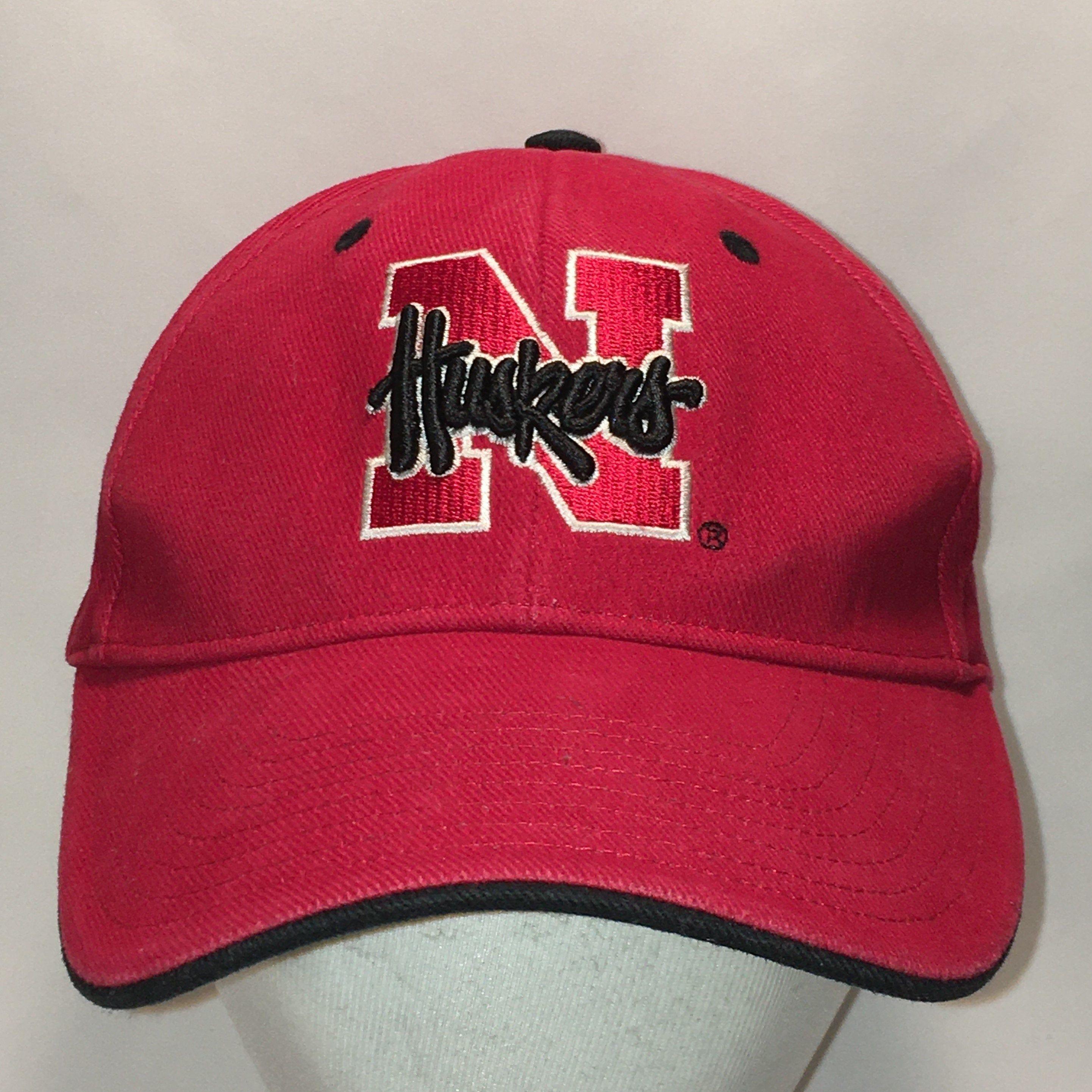 Vintage University Of Nebraska Hat Cornhuskers Baseball Cap Etsy Vintage Baseball Caps Dad Hats Cornhuskers