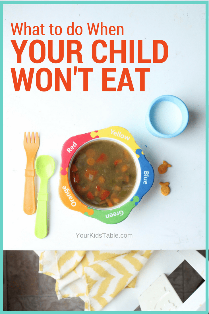 5 Surprising Reasons Kids Refuse to Eat + How to Help Them Eat More is part of Kids meals - Want to figure out why your kids won't eat anything or refuses to eat at all  Learn the real reason why and how you can help from a feeding expert and mom!