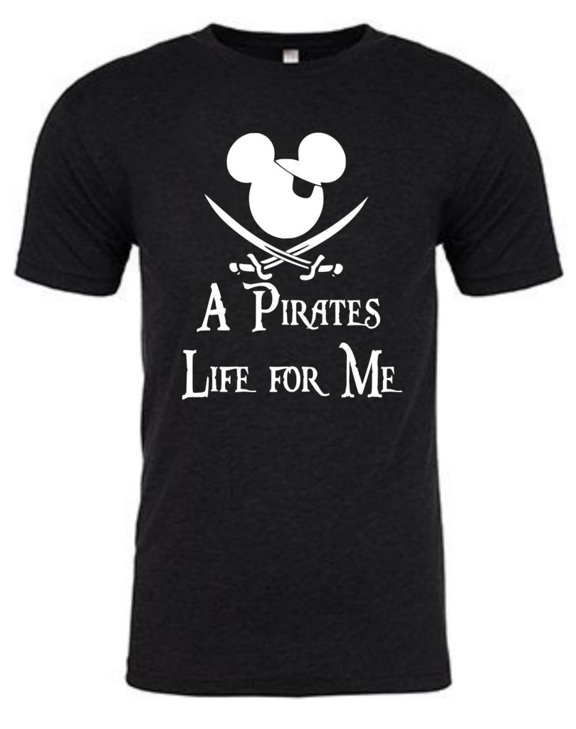 disneyland disney cruise tshirt Toddler Pirates of the Caribbean shirt pirates life for me Tee
