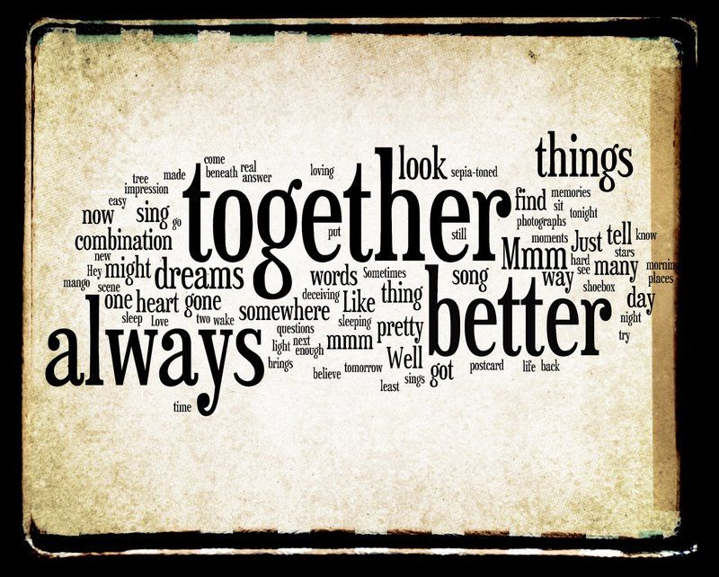 Gallery For > Better Together Jack Johnson Lyrics