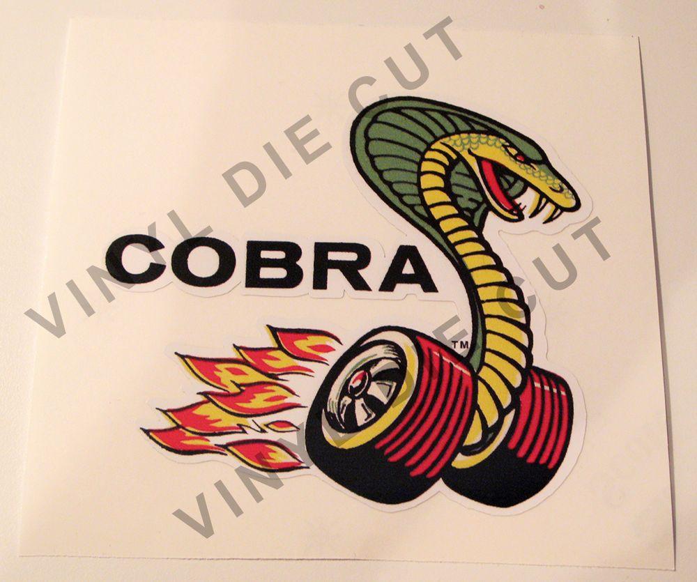 Vintage Cobra Decal Sticker Mustang Cobra Carroll Shelby Gt Drag Racing Mustang Monograms Diy Mustang Cobra [ jpg ]