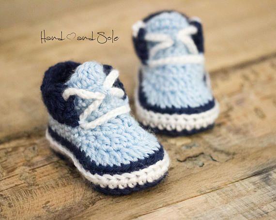 Baby Booties Crochet Pattern, Baby Boy Crochet Pattern, Crochet ...