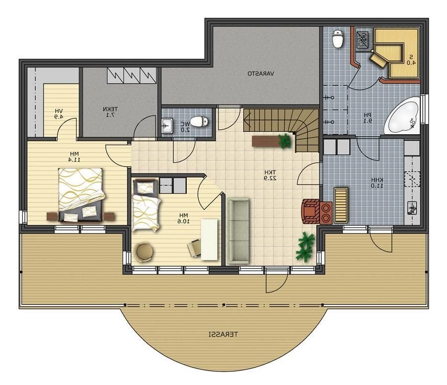 Modern house layout plans